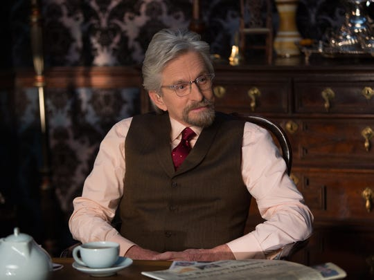 Michael Douglas appears as Hank Pym in the 2015 film