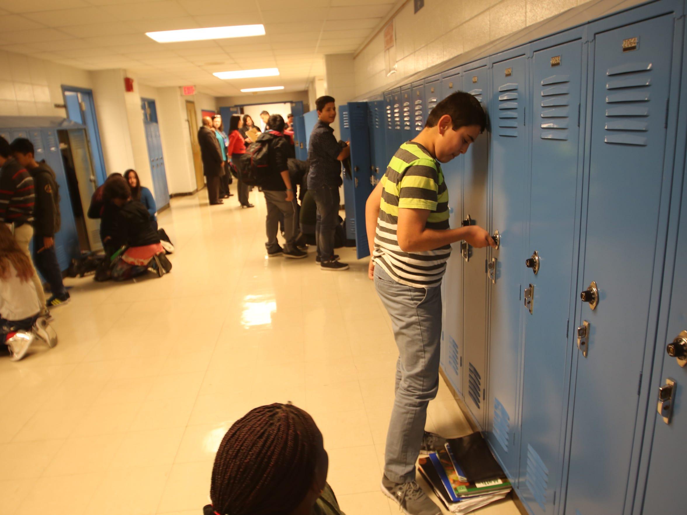 Abdulbaset Al-Tybawi attends Jefferson County Public Schools ESL Newcomer Academy.