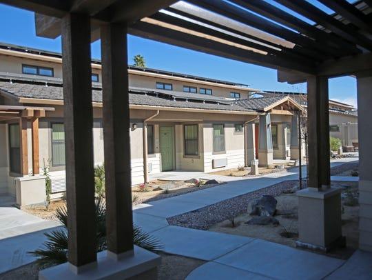 The Carlos Ortega Villas senior affordable housing