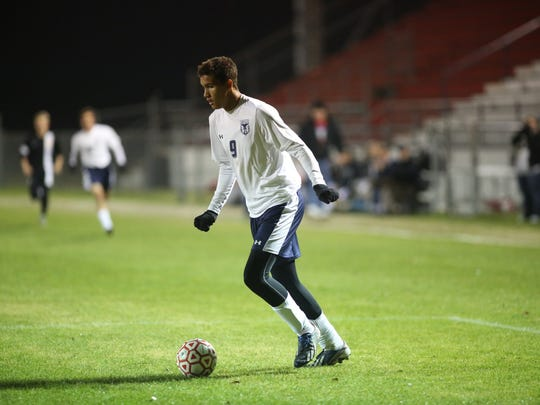 Wakulla junior Isaiah Caple scored two goals against Rutherford, giving him 25 for the season, a new school record.