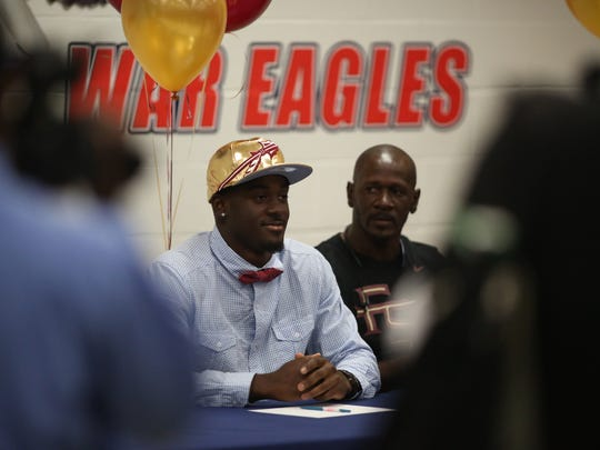 Wakulla senior Keith Gavin signed with Florida State on Wednesday, Feb. 3. Gavin is a four-star recruit.