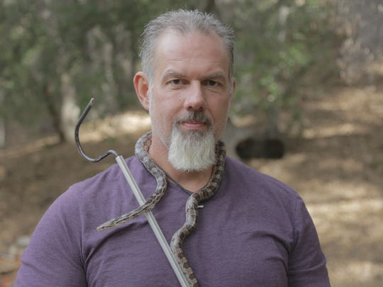 John Lovchuk, 47, of Croswell, to be featured on Venom Hunters on the Discovery Channel at 10 p.m. Feb. 17