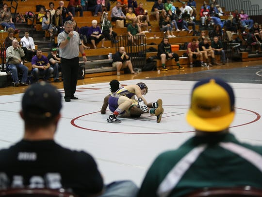 District 1-2A wrestling tournament at Chiles