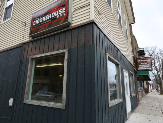 Brian Kooker, 49, is expecting to open Brian's Smokehouse