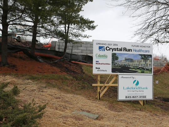 Crystal Run Healthcare is building a 70,000-square-foot