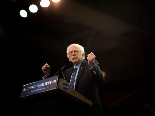 Bernie Sanders Holds Campaign Rally In Oklahoma City
