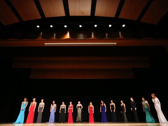 Eleven Wisconsin women and three Wisconsin teens compete at the 2016 Miss Harbor Cities and Outstanding Teen Pageant at Silver Lake College on Saturday, March 12.