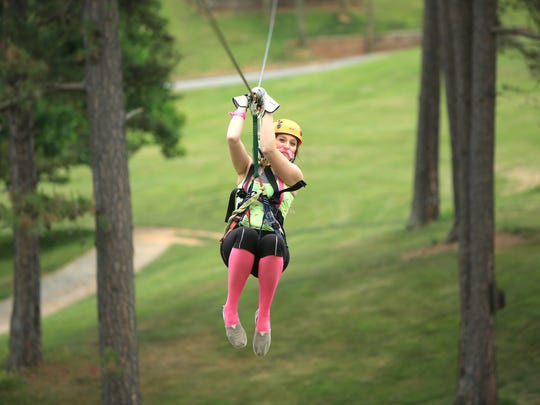 Wildwater operates a zip line near downtown Asheville, as well as rafting operations on the Chattooga River and more.