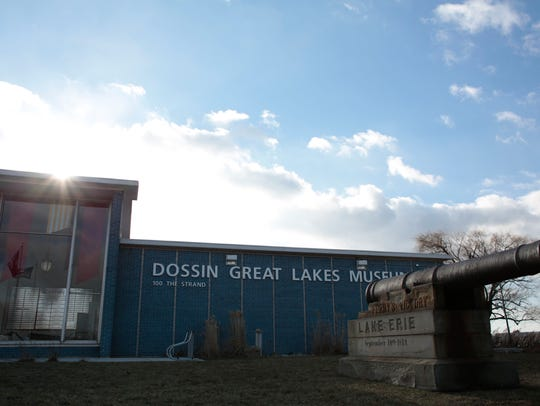 The Dossin Great Lakes Museum on Belle Isle in Detroit.