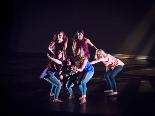 """Dancers from the Movement Source perform Jordan Kriston's """"Unfold."""""""