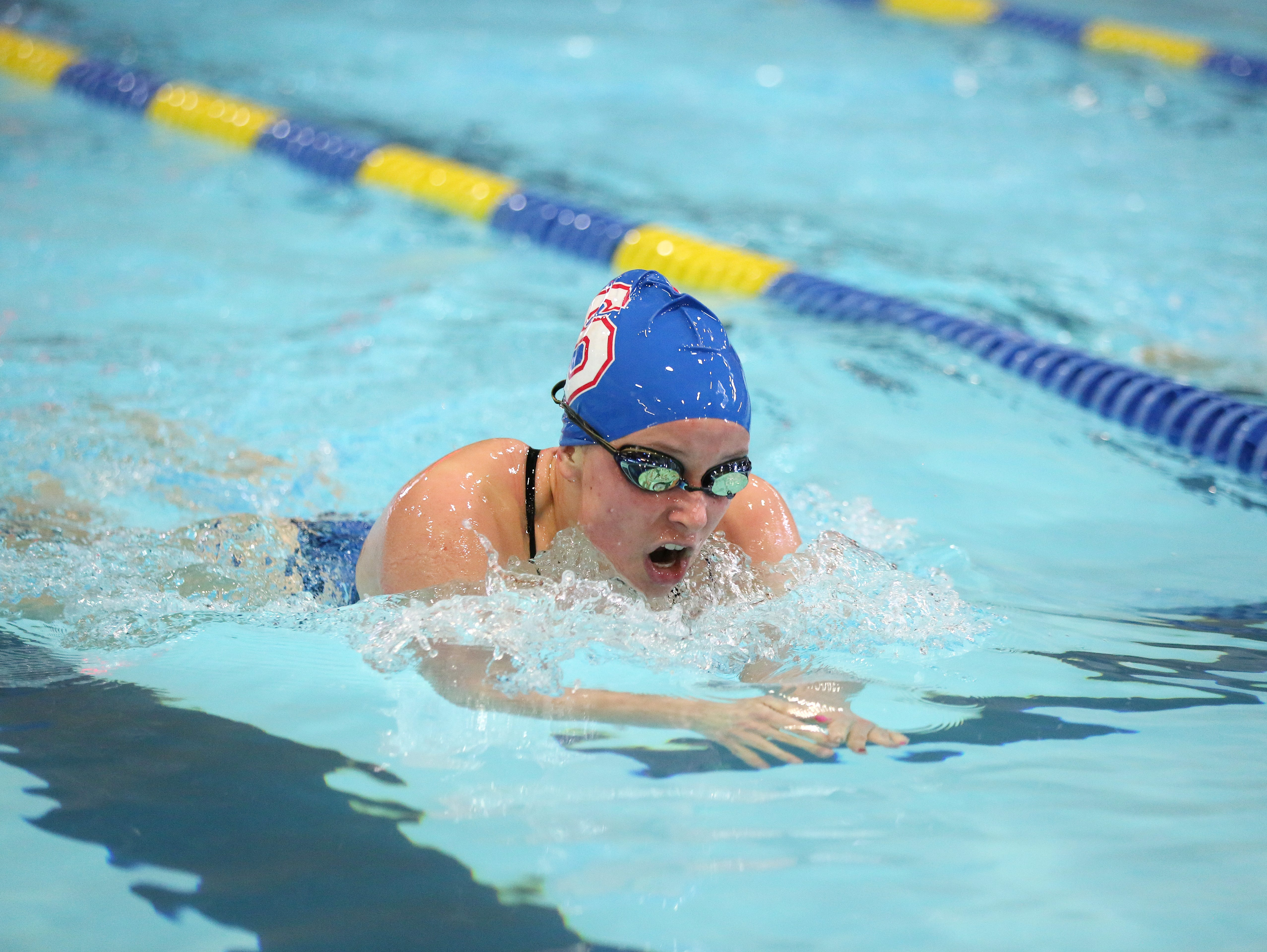 South Salem's Anna Despain is a finalist for All-Mid-Valley girls swimmer of the year.