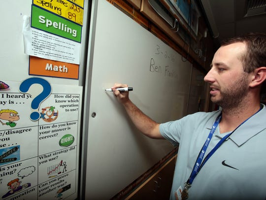 Palm Desert grad Nick Baker juggles a career in baseball with substitute teaching.