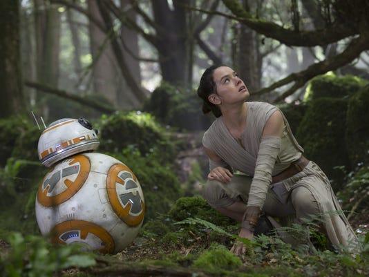 Rey in 'Star Wars'