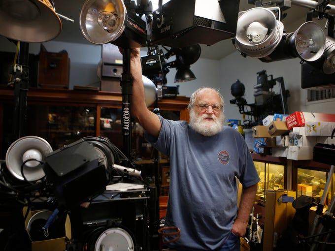 Chuck Rubin, owner of Chuck Rubin Photographics, tremembers