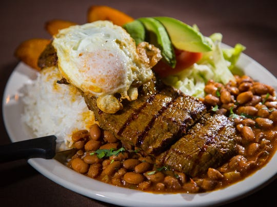 Churrasco from Mi Patria in West Des Moines features
