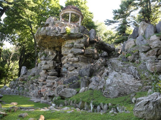 The Temple of Love's restoration project at Untermyer