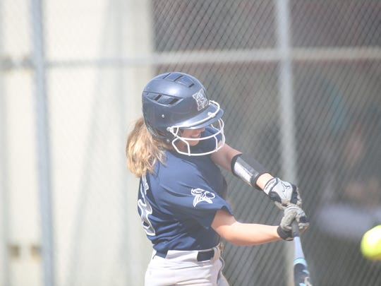 Maclay's Regan Hermeling was 2 for 4 with two doubles