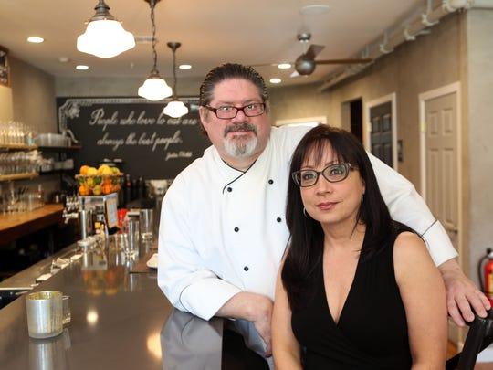 Chef Kevin Reilly and Maria Santini, owners of Roost Restaurant in Sparkill, April 20, 2016.