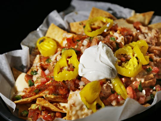 University Library Cafe's nachos are some of the best