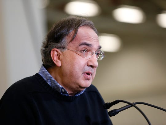 Fiat Chrysler Group CEO Sergio Marchionne has the top