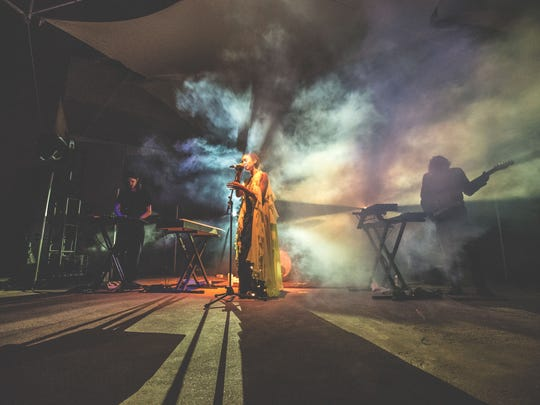 Hundred Waters performs at last year's FORM Arcosanti. The event returns May 13-15.
