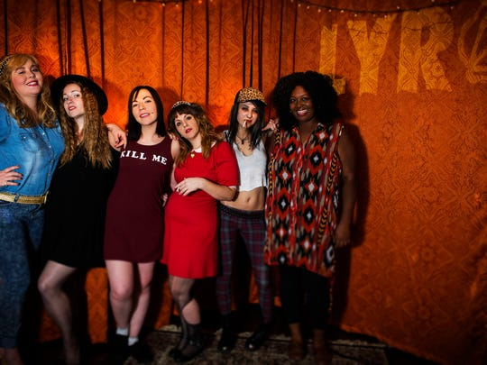 The 2016 staff of Love Your Rebellion