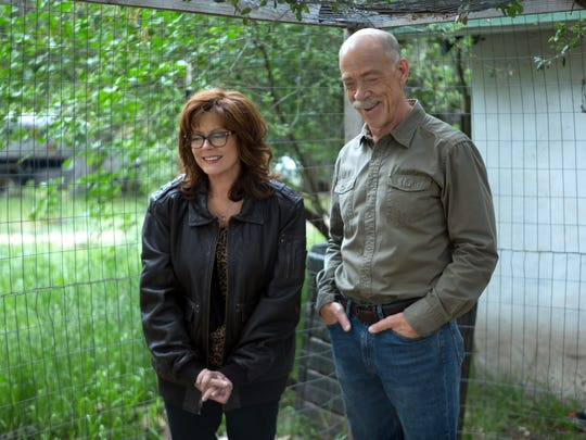 """Susan Sarandon and J.K. Simmons in a scene from """"The Meddler."""""""