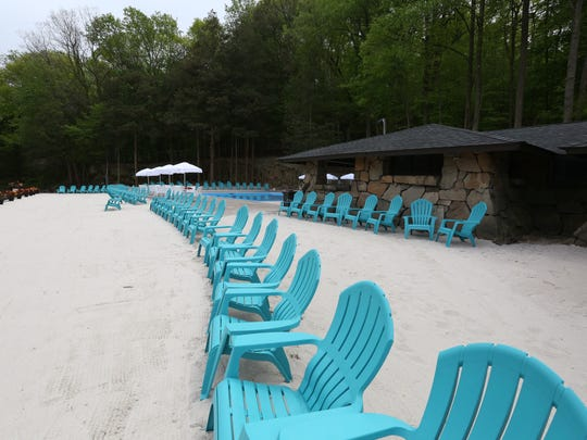 Billy Procida of Piermont is getting ready to open his new Tallman Beach and Pool Club at Tallman Mountain State Park in Sparkill May 10, 2016.