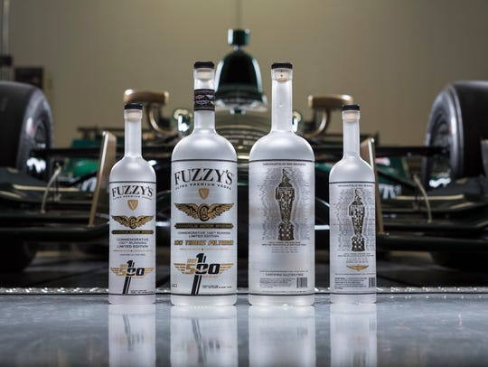Fuzzy's vodka will be selling bottles of its 100th