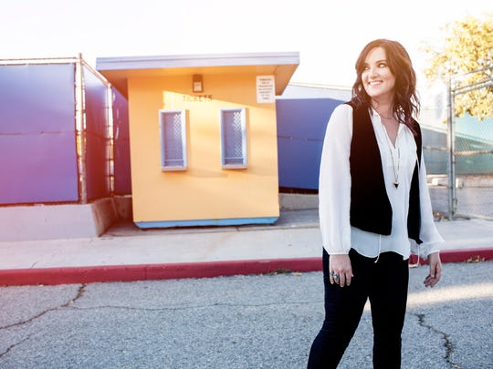 "Brandy Clark won the CMA Song of the Year Award in 2014 for co-writing the Kacey Musgraves hit ""Follow Your Arrow"" with Musgraves and Shane McAnally."