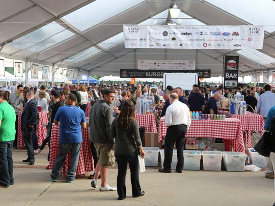 The Burger and Beer Blast, a signature event at Westchester Magazine's Wine & Food Festival.