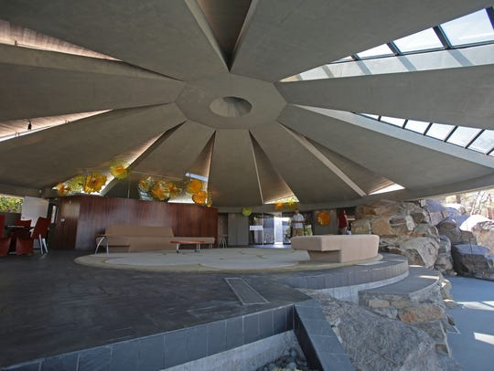 The Elrod House by American architect John Lautner