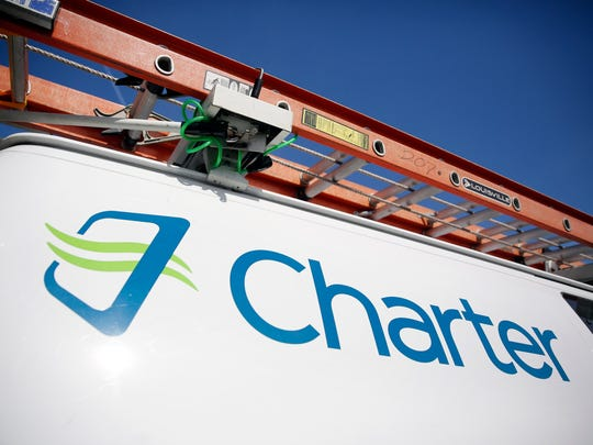 File photo taken in 2015 shows a Charter Communications
