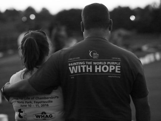 The Chambersburg Relay for Life took place Friday afternoon