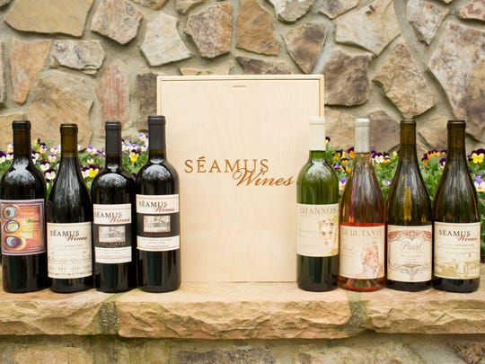 Seamus Wines honors New Jersey landmarks on some of its labels.