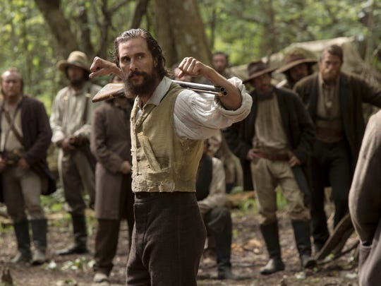 "Matthew McConaughey stars in ""Free State of Jones."""