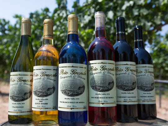 Rio Grand Winery and Vineyard produce twelve varieties