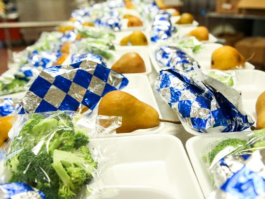 Wednesday, hamburger sliders, broccoli, and a pear was being served.  Summer school means youths not only continue their education but continue to be fed. Last year, the county gave youths 70,000 breakfasts, 143,000 lunches and 62,000 snacks in the summer. When kids get proper nutrition they perform better in the classroom. For some kids school meals are their only meals.