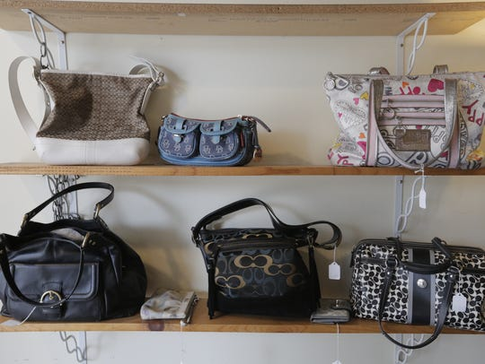 Purses of all price ranges can be found at the Frugal