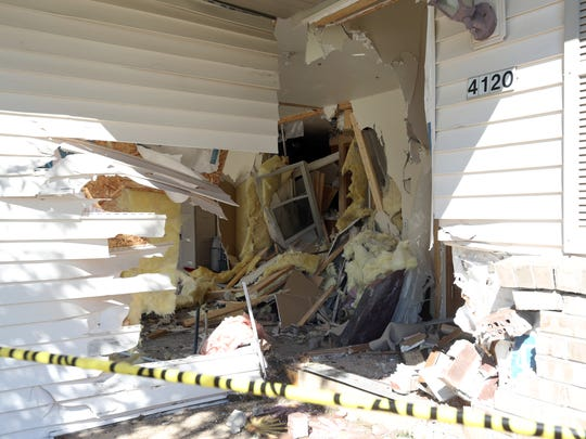 A 27-year-old male driver crashed through the side of the garage of a duplex on the 4100 block of Ray Street and knocked down the front door of the 4120 resident at around 5 a.m. on Thursday, June 30. Both of the homes and the two cars belonged to the home owners were severely damaged, and the driver was taken to Holy Family Memorial for non-life threatening injuries.