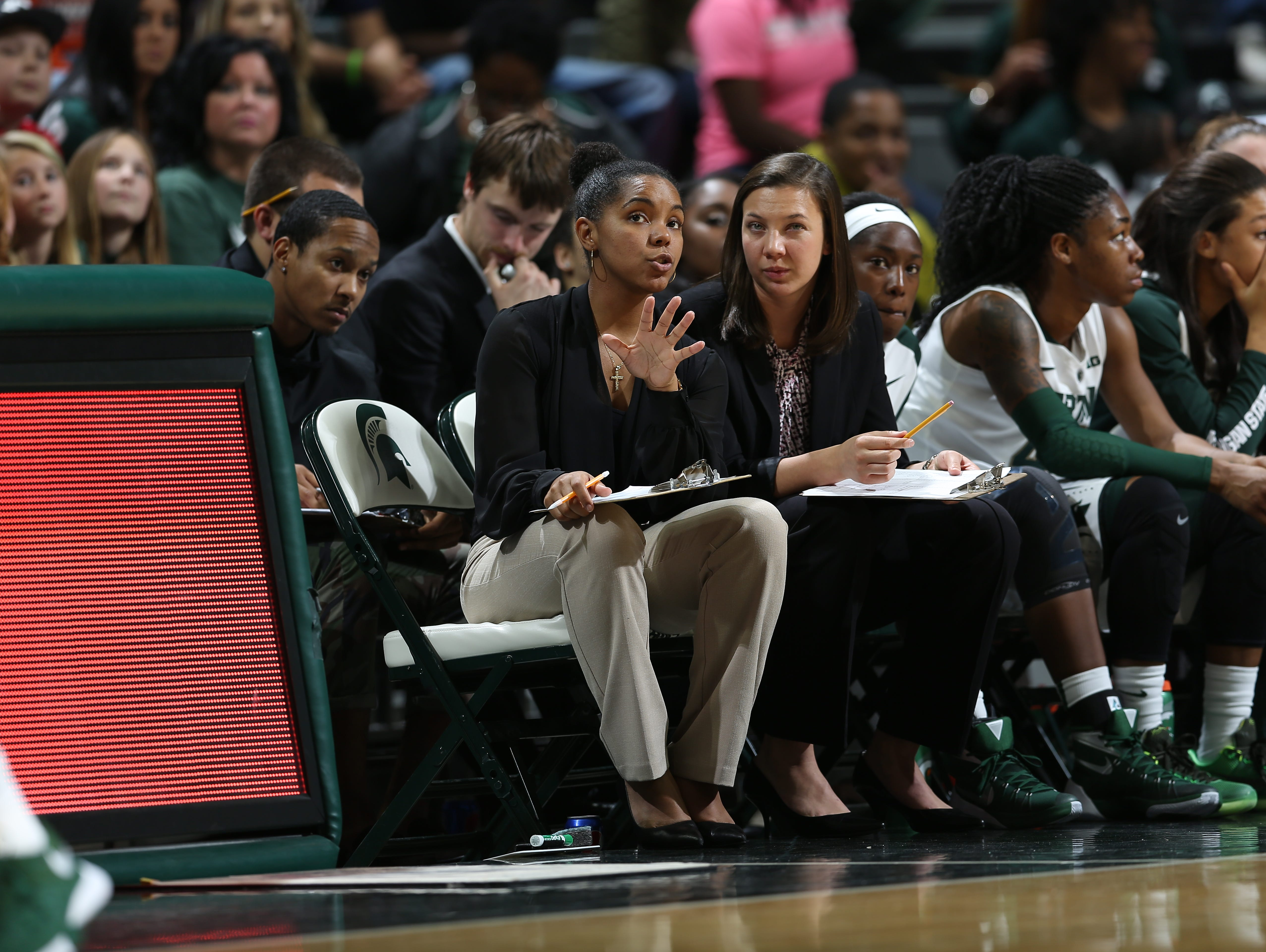 East Lansing graduate Victoria Lipscomb was recently hired as an assistant coach at IUPUI. Lipscomb spent the past two years as a graduate assistant at Michigan State.