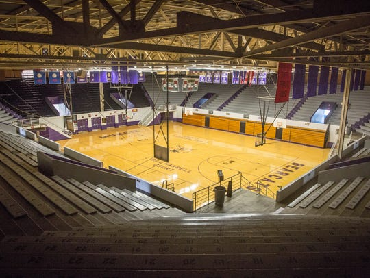 The Fieldhouse  is under evaluation after structural