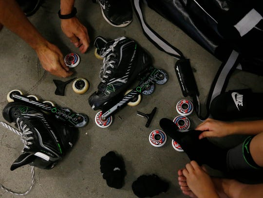 A roller hockey tournament is planned this weekend at Kirby Park.