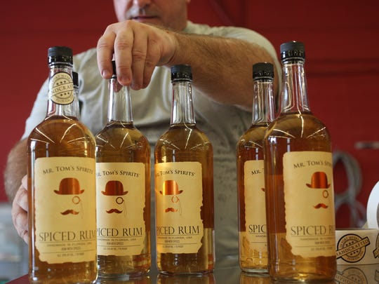 The List Distillery in Fort Myers has recently opened.  They distill a variety of liquors including  gin, spiced rum, vodka, triple sec, whiskey and a host of flavored spirits.  The craft distillery says they use all locally grown crops in their products,