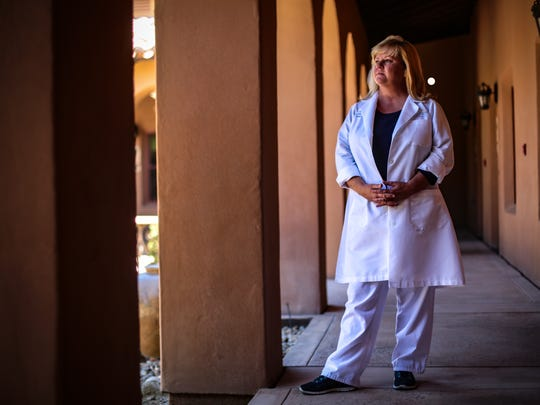 Heidi Anderson, the trauma program manager at Desert Regional Medical Center, worked in the emergency room at the hospital 25 years ago during the girl scout bus crash.