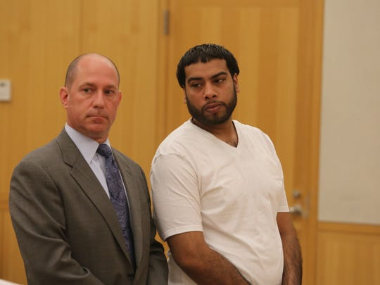 Tejmitra Singh, right, appears in Westchester County