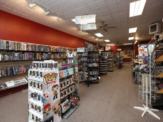 Stockpile Games has recently moved to a new location on South Eighth Street.
