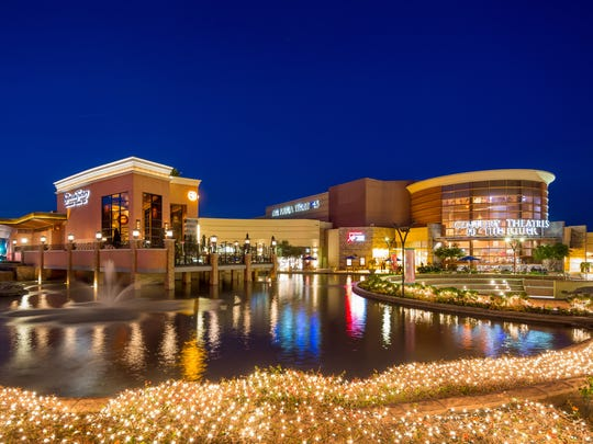 The River at Rancho Mirage will transform part of its water feature into an outdoor skating rink for the holiday.