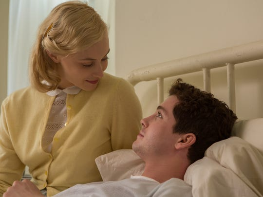 """In 'Indignation,"""" a date between Marcus (Logan Lerman) and Olivia (Sarah Gadon) doesn't go as planned."""