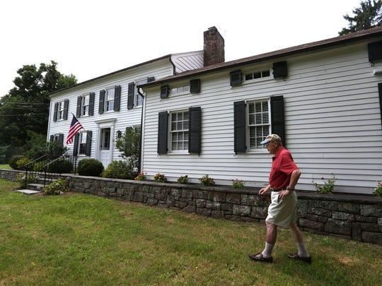 Heritage of West Nyack Chairman Bert Dahm at the Vanderbilt-Budke house in West Nyack Aug. 9, 2016.
